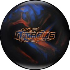 NEW Columbia 300 Nitrous Solid Reactive Resin Bowling Ball, Blk/Blu, 10-12 LB