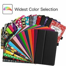For Apple iPad Premium Vegan Leather Case Standing Smart Protective Cover