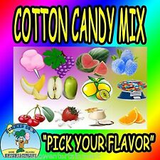 COTTON CANDY FLAVORING mix WITH SUGAR Machine floss flavored concession supply