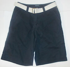 Mossimo Supply Co. Mens Navy Blue Belted Utility Shorts Size 28 NWT