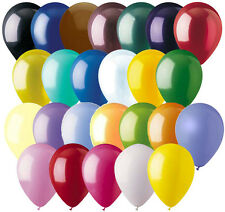 """24- 12"""" Solid Latex Balloon Wedding Birthday Party Baby Shower Graduation Mother"""