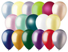"12- 12"" Pearl Latex Balloon Wedding Birthday Party Baby Shower Graduation Mother"