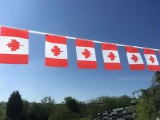 Canada Fabric Bunting - strong various lengths wholesale free postage