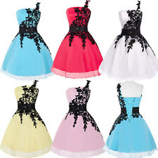 Dress Short Formal Cocktail Evening Party Dress Prom Gowns Organza Bridesmaid