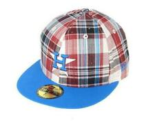 NEW ERA - 59FIFTY CAP. PLAID POP HOUSTON ASTROS. Fitted. Red/Snapshot Blue.