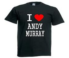 Personalised I Love Andy Murray Tennis T-Shirt