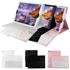 Removable Wireless Bluetooth Keyboard PU Leather Stand Case Cover For iPad Pro
