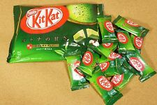 Nestle KitKat Kit Kat Japan Green Tea Matcha Maccha Chocolate 12 mini bars
