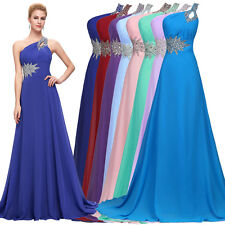 New Formal Long BEADED Dress Prom Evening Party Pageant Bridesmaid Wedding Gowns