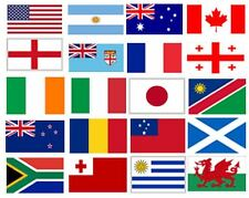 WORLD CUP BUNTING, FLAGS INC ENGLAND/WALES/IRELAND/FRANCE/ITALY, FOOTBALL/RUGBY