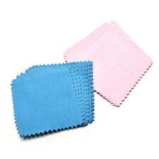 10x Jewelry Polishing Cloth Cleaning for Platinum Gold and Sterling Silver WB