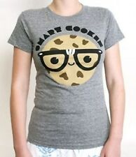 "New Loungefly ""Smart Cookie"" Junior's Gray Tee Shirt - Sizes S - L"