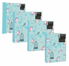 "Vintage Floral Blue Roses Photo Albums, 4 Designs - 6x4"", 7x5"" or Self Adhesive"