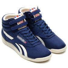 Reebok Womens Freestyle Hi Vintage Inspired Trainers - UK Size 4/5 (RRP £60+)