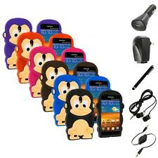For Samsung Galaxy S 2 II Epic Touch 4G Monkey 3D Soft Case Cover+Accessories