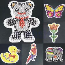 Animal Clear Pegboard Template for DIY Fuse Perler Beads Accessories Kid Toy BE