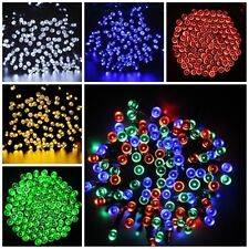 100/200 LED Outdoor Waterproof LED Solar Fairy String Lights Wedding Party Xmas