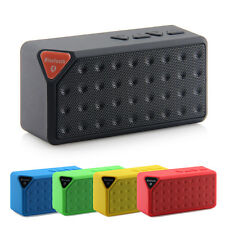 Mini X3 Bluetooth Speaker Portable FM Wireless Music Sound Box for iOS Android