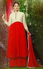 Anarkali Semi Stitched Designer Wear Suit Bollywood Salwar Kameez Dress SUT2550A