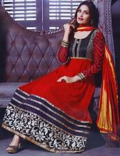 Anarkali Semi Stitched Designer Indian Bollywood Salwar Kameez Suit SUT2572A