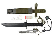 Rothco 3233 Deluxe Jungle Survival Knife Olive Drab