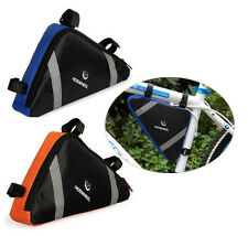 Triangular Bicycle Mountain Bike Cycle Bag Front Frame Tube Corner Storage Pouch