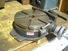 ROTARY TABLE VERTEX 12 INCH H/V MODEL MILLING MACHINE  DRILL ENGINEERS TOOLING