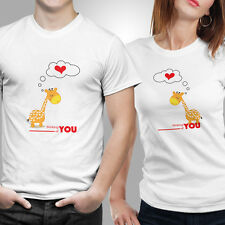 Thinking of you T-shirt Size S,M,L,XL,XXL Color White by iberrys