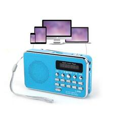 Rechargeable Mini Digital MP3 U Disk Micro SD/TF Card Speaker with FM Radio