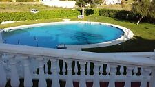 Spanish villa in Torrox Park sleeps 8 communal pools and tennis courts
