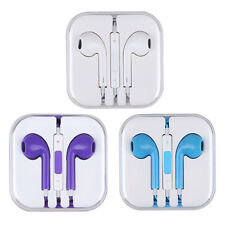 Earphone Earbud Headphone Headset W/Mic For Apple iPhone iPod iPod Touch