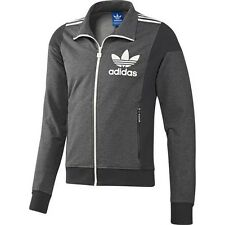 ADIDAS ORIGINALS ADI Big Trefoil Track Top Training Jacket Men's Jacket Grey