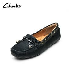 Clarks Dunbar Cruiser Black Leather Ladies flats/shoes 4/37, 4.5/37.4 RRP £65