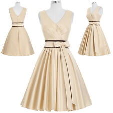 Women V-neck Formal Homecoming Prom Gown Cocktail Party Evening Dress Short Mini