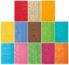 Wilton Fondant & Gum Paste Mold Imprinted Texture Cake Accent Choose Your Design