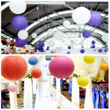 "Wedding Party Paper Lantern Chinese Home Xmas Decorations 10"" 12"" 16"" Hot Sale"