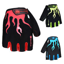 Cycling Gloves Bicycle Motorcycle Sport Gel Half Finger Fingerless Gloves
