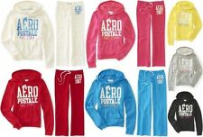 AEROPOSTALE WOMENS HOODIE AND SWEAT PANTS SET MSRP $84 NWT AERO LOGO EST 1987 NY