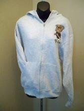 New-Mississippi State Bulldogs Mens Medium or XLarge Gray ZipUp Hoodie Jacket