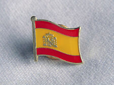 Spain Spanish Flag Country Metal Lapel Pin Badge