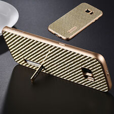 Real iMatch Metal Bumper+Carbon Fiber Back Cover Case For Samsung Galaxy S7 Edge