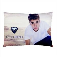 So Cute Justin Bieber Collectible Photos Pillow Case