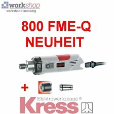 KRESS 800 FME-Q Milling motor with 2 Collets Nuts CNC suitable