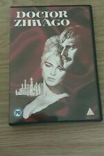 DR DOCTOR ZHIVAGO DVD Omar Sharif Julie Christie REGION 2 DVD
