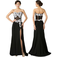 GK Lace Maxi Chiffon Ball Gown Pagenat Evening Prom Formal Party Dress Size 2~16