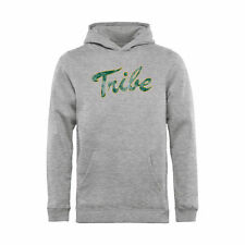 William & Mary Tribe Youth Ash Classic Primary Logo Pullover Hoodie