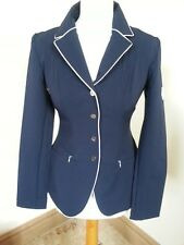 CLEARANCE! JOHN WHITAKER SOFTSHELL COMPETITION JACKET NAVY/WHITE PIPING