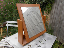 Vintage Mid century style dressing tilting table mirror