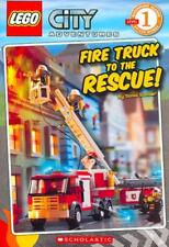 FIRE TRUCK TO THE RESCUE! - NEW PAPERBACK BOOK