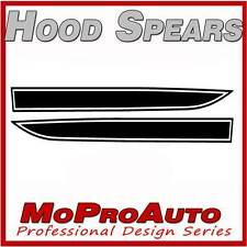 Mustang - 3M Pro Grade SOLID HOOD SPEARS Stripes Graphics Decals 2011 380